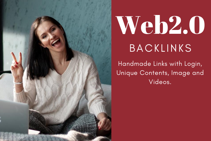 I will do manually 80 high da pa web 2.0 authority backlinks for your website