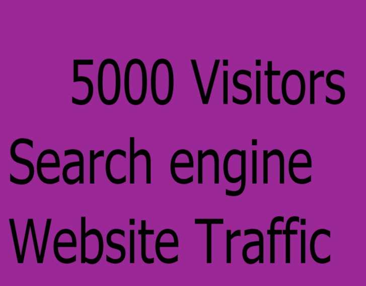 5000 Search engine Website Google Traffic