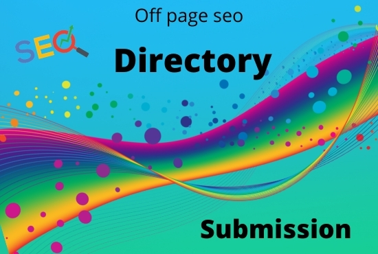 I will do business or web directory submission SEO backlinks