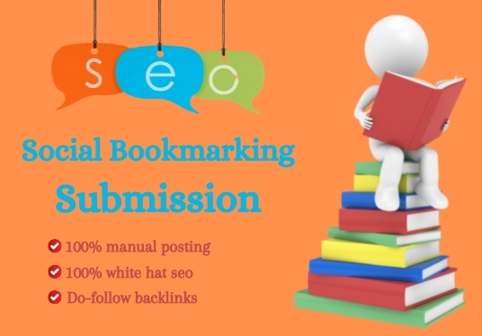 Iwill creat manually high quality social bookmarking seo baclinks for your website