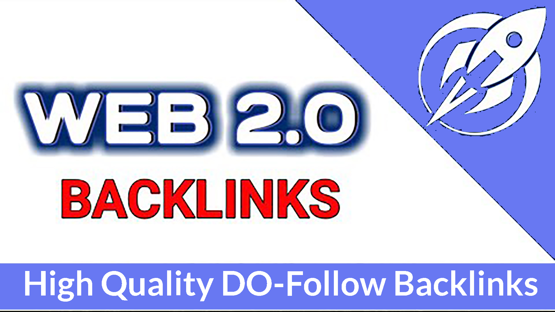 I will do 50 web 2 0 backlinks manually For First Google Rank and Index