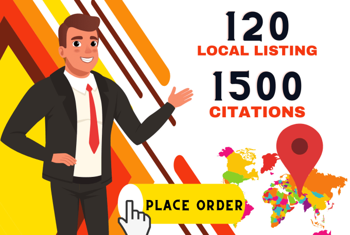 Local Citations and Directories I will do local listing with 1500 google map citations any country