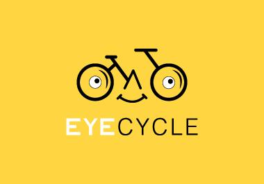 I will design creative unique flat minimalist eye-catching professional logo for you