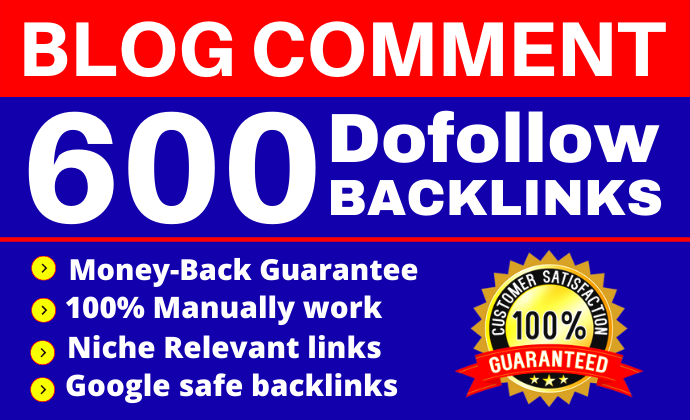 I Will Provide 600 Unique Domains Blog or Website Comments Backlinks Boost Your Website
