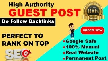 I Will Publish Permanent 15 High DA PA Guest Post SEO Backlinks on Google Sites