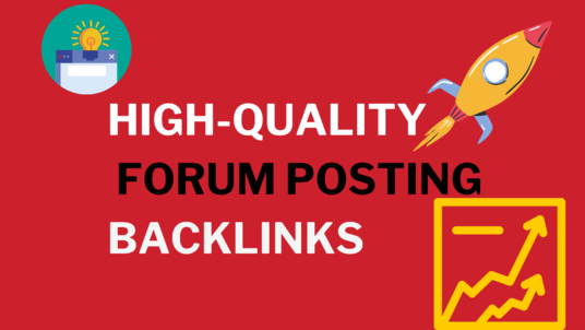 I Will Provide HQ 50 Forum Backlinks