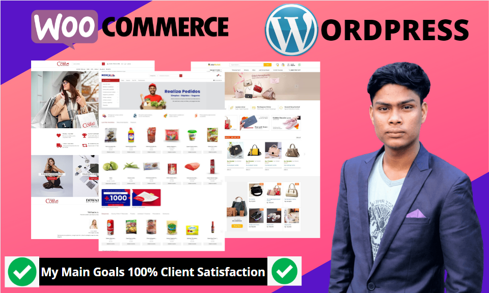 I will build ecommerce website woocommerce online store wordpress ecommerce store
