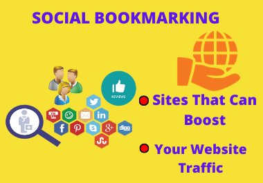 80 Powerful High PR Manually Live Social Bookmarking Dofollow Backlinks white hat method