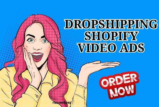 I will make products videos for shopify and dropshipping