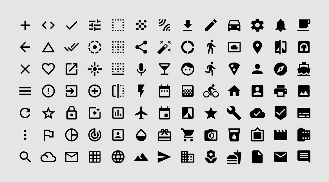 I will design unique,  and modern 10 custom icons set for app and web