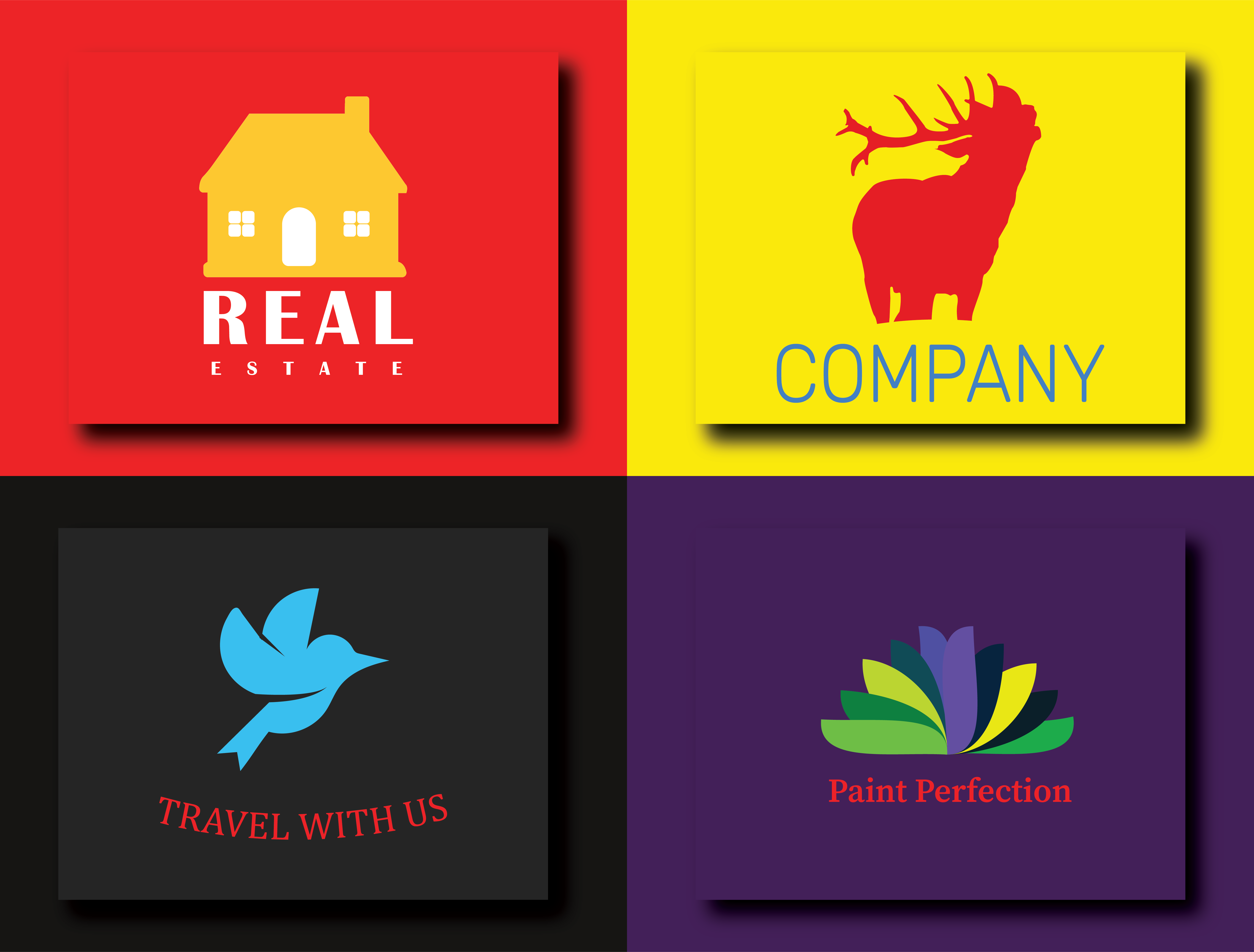 I will do creative minimalist logo design for your business