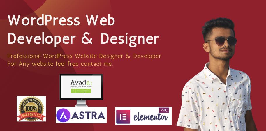 I will Responsive design a professional wordpress website