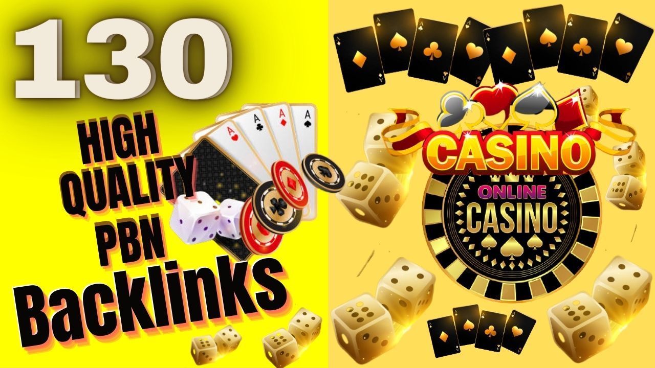 130 Highly Recommended Homepage and Manually done CASINO PBN backlinks