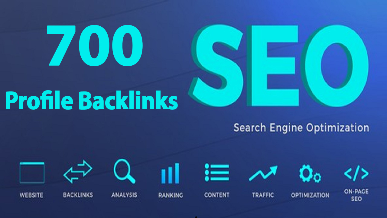 I Will Do High Quality 700 Web 2.0 Profile Backlinks for Your Website in Google Rank 100 Manual