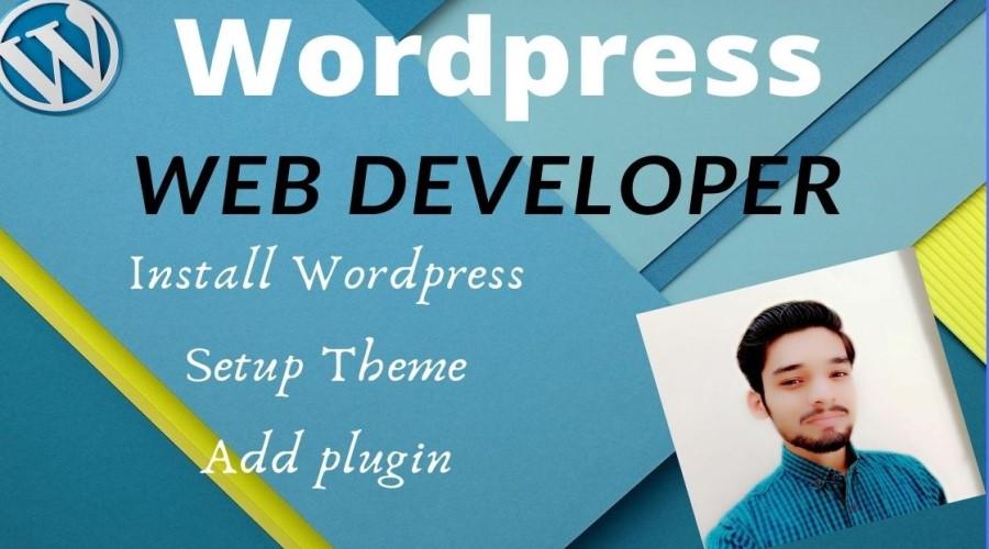 I will create and setup a responsive WordPress website