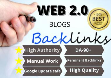 25 WEB 2.0 unique High Authority Permanent Contextual Backlinks White Hat SEO Link Building