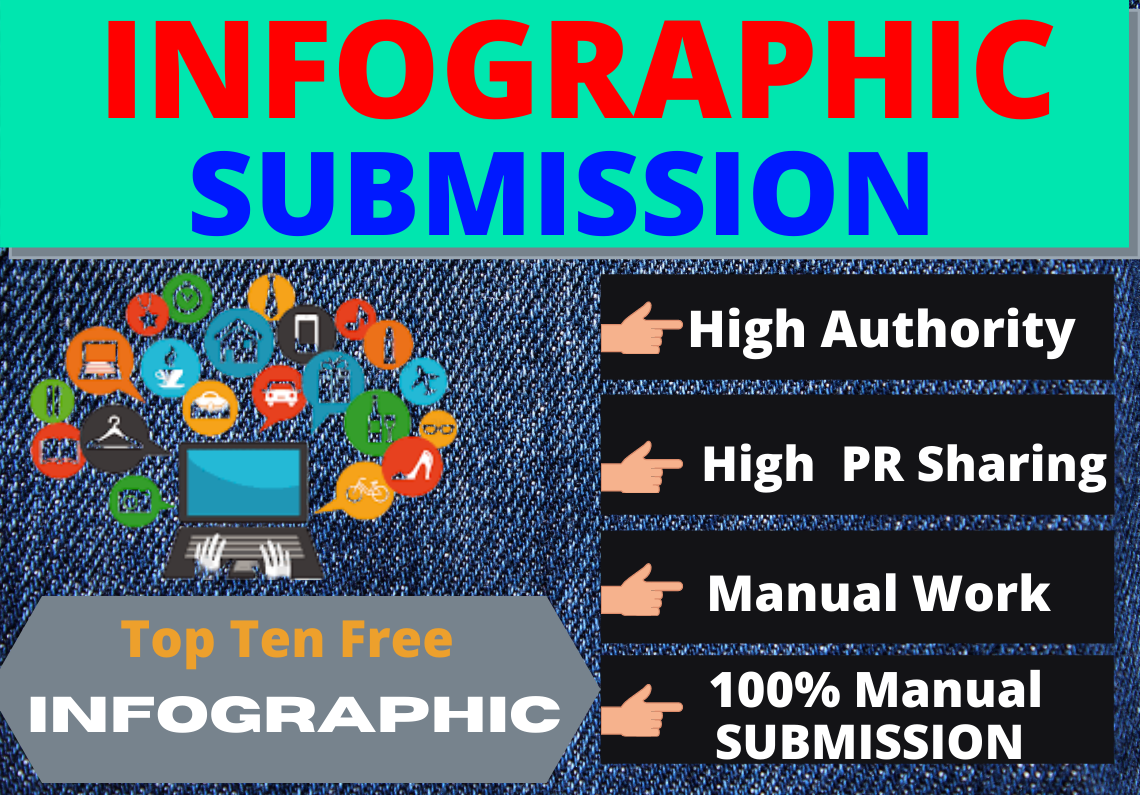 I will do 80 infographic submission on high domain authority dofollow sites