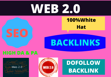 I will build 25 super powerful high authority Web 2.0 blogs contextual backlinks