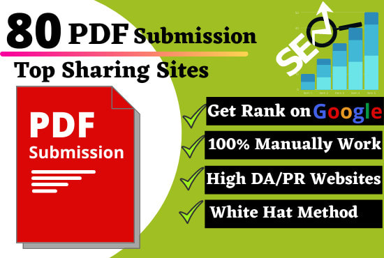 50 PDF Submission High Authority Low Spam Score WebsiteHigh Aa Dofollow Backlinks