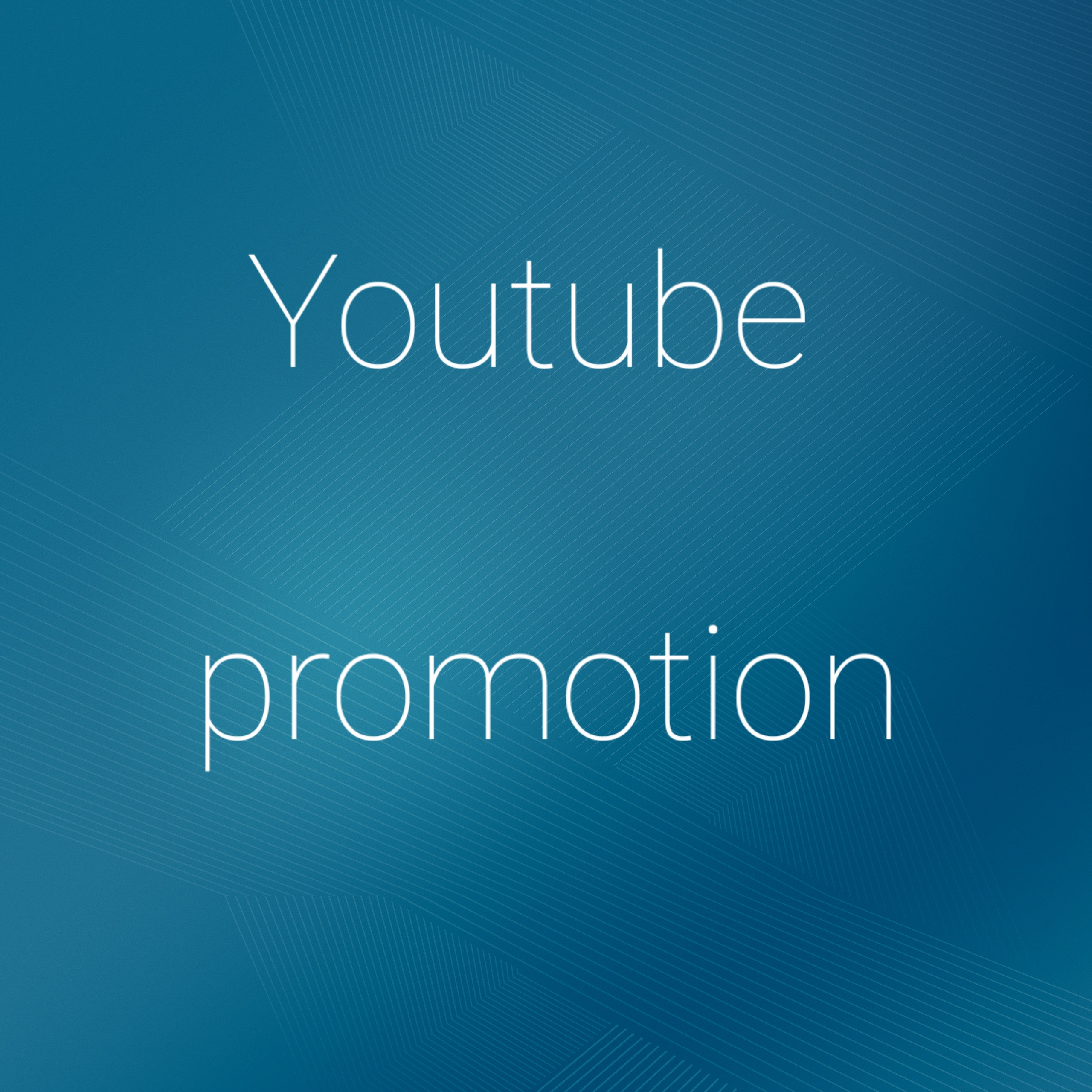 I will do yourube promotion rank and fast delivery