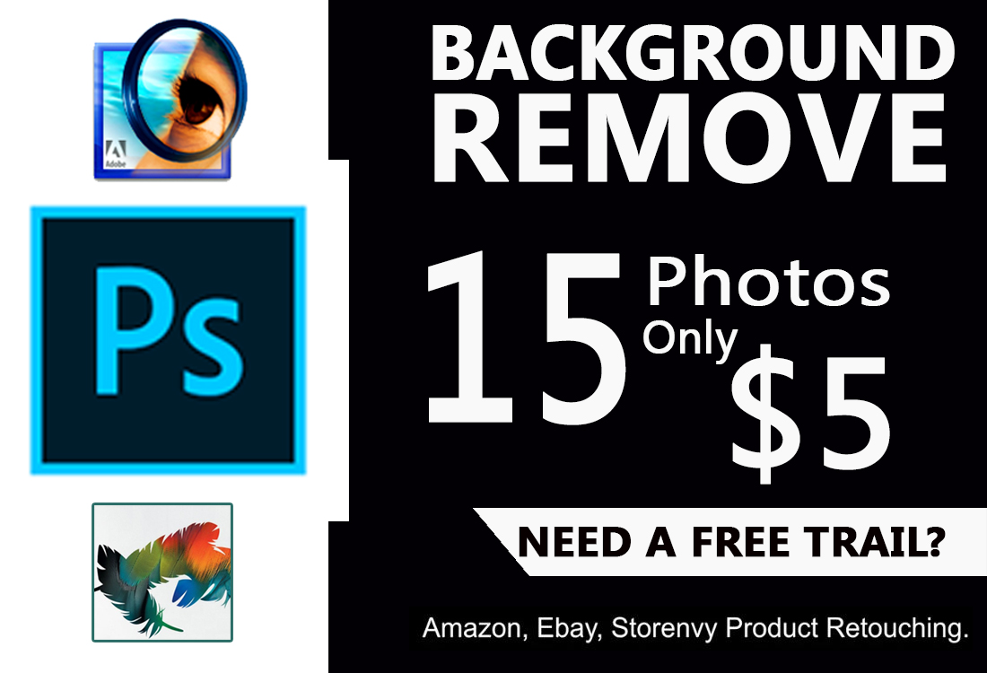 I will background removal 15 images 4 hr quickly delivery