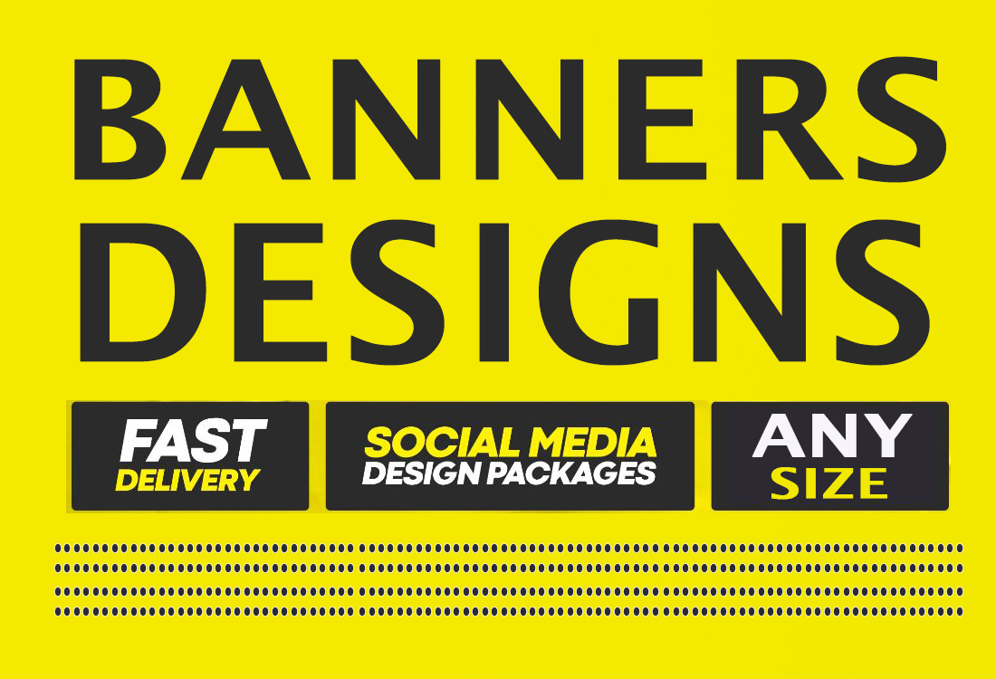I will design creative & modern banners ads for you