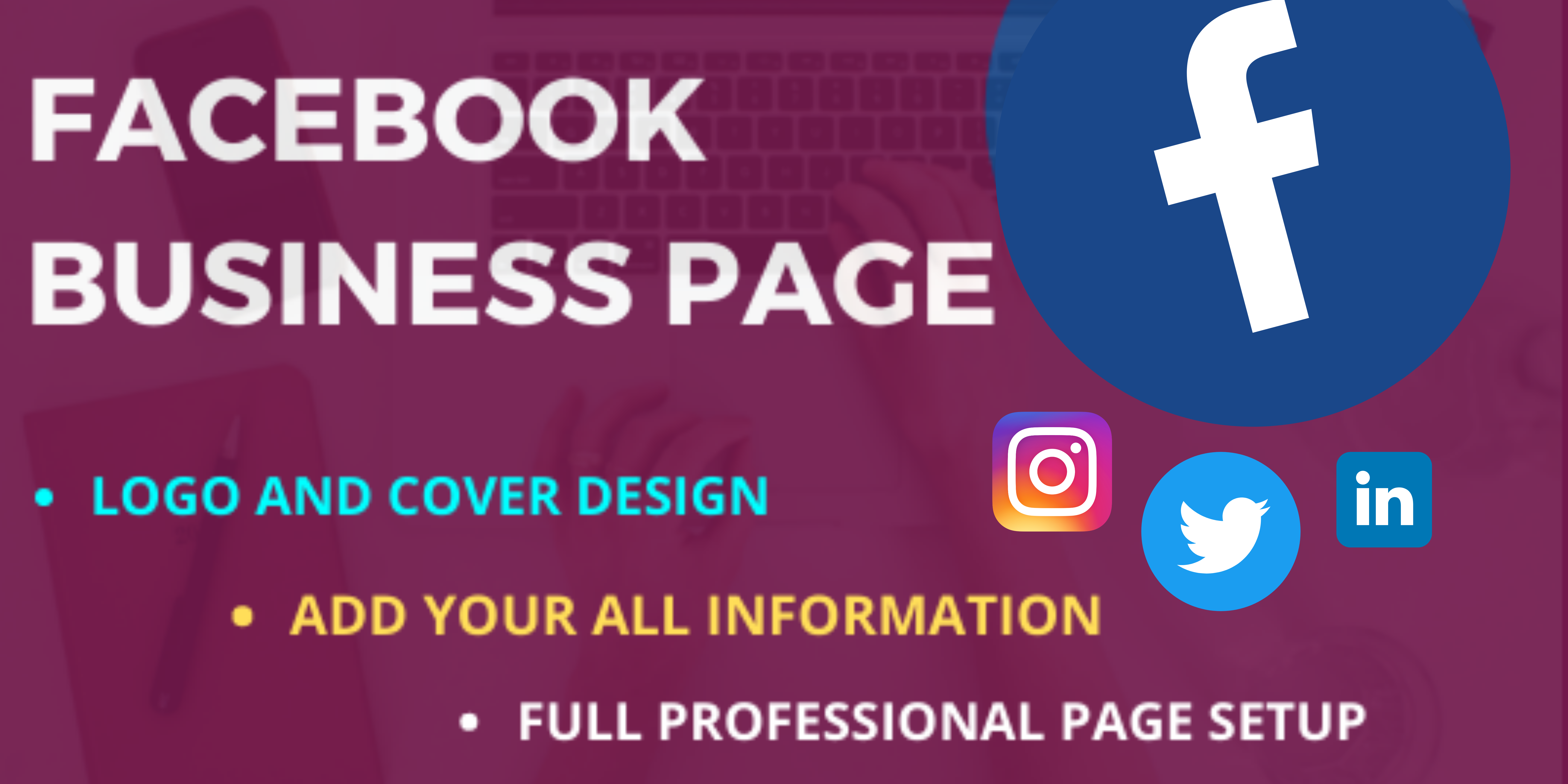 I will create and promote FB and Instagram business Page