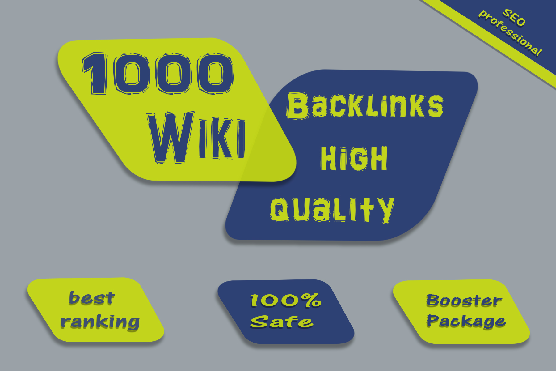 create 1000 Wiki backlinks mix profiles & articles