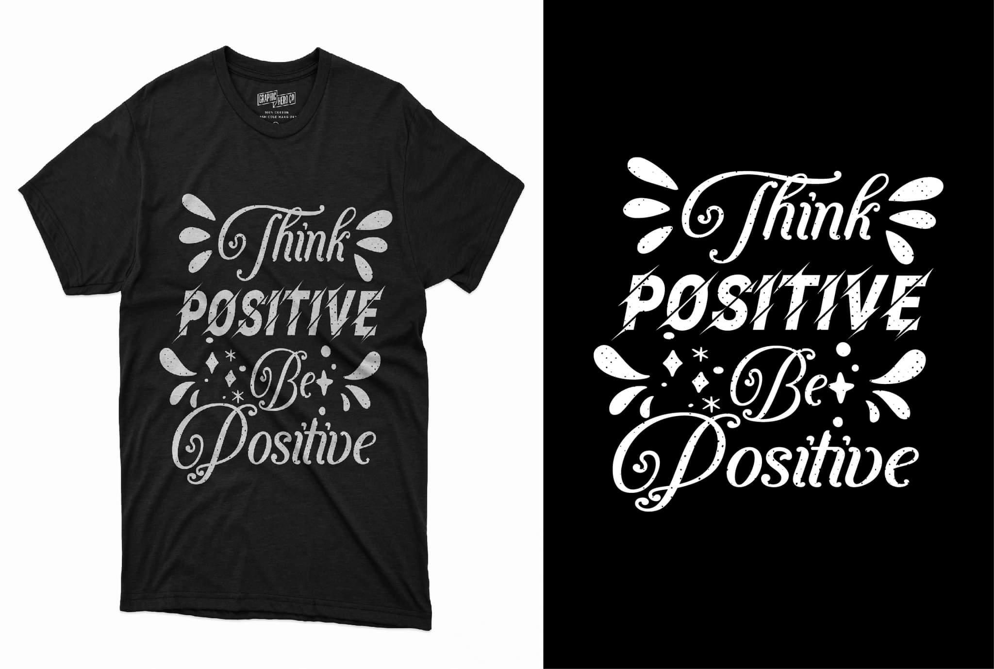 I will do custom typography t shirt design