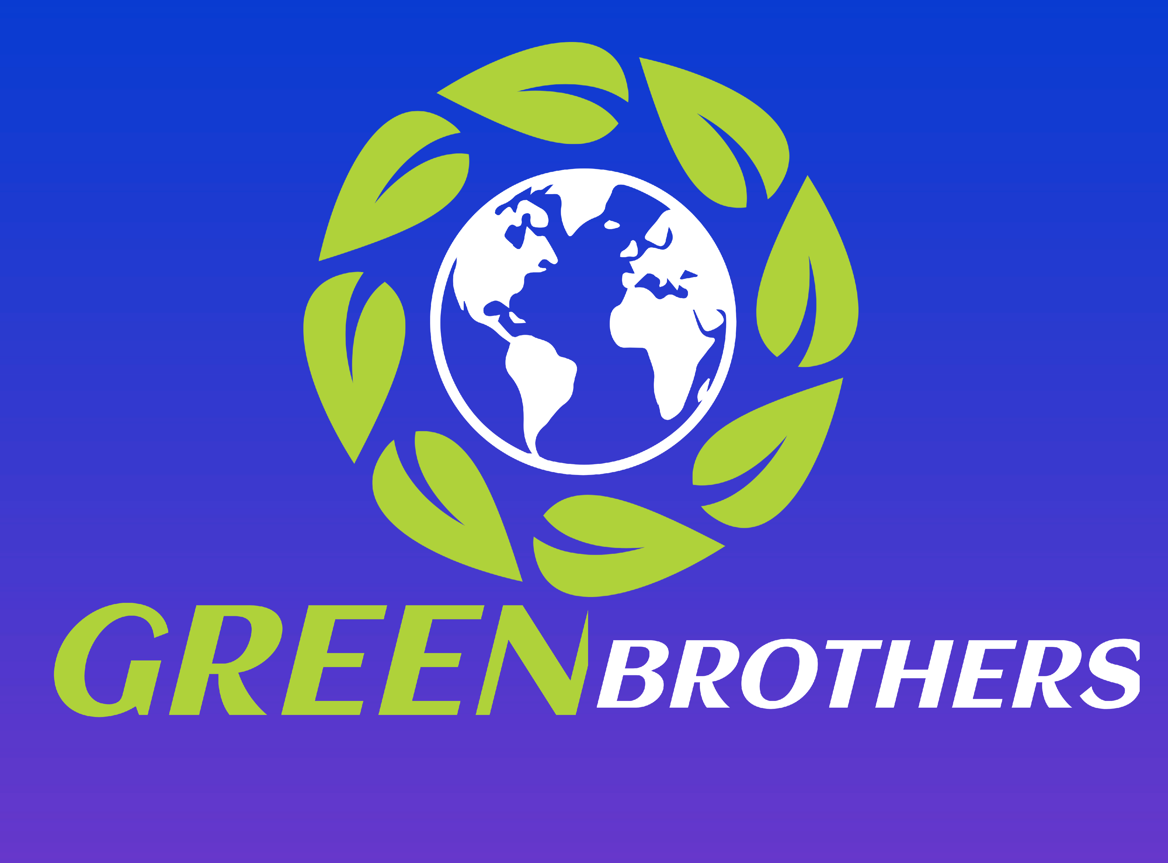 LoGo Making ,Grow up with us , Best Graphic design. GREEN BROTHER'S. Best Quality