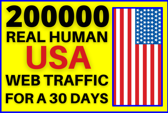 I will send 20000 targeted real genuine USA web traffic to your website