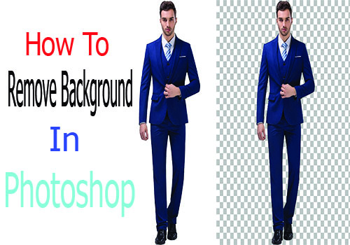 I will remove background product image in Photoshop