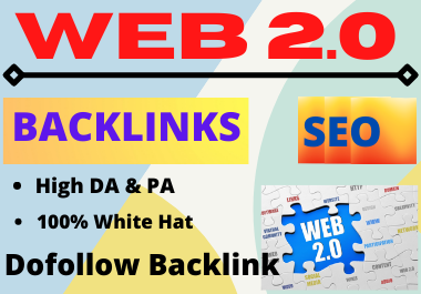 80 WEB 2.0 High Authority Permanent Contextual Backlinks