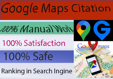 500 Google Maps Citation for Local Business SEO