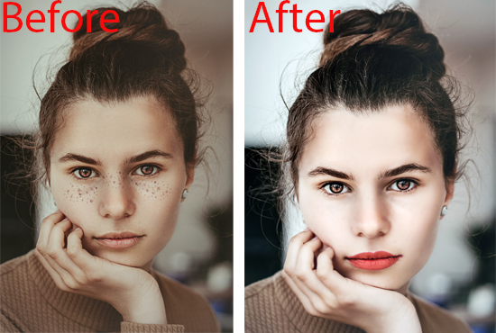 I will do photoshop edit and retouching for social media