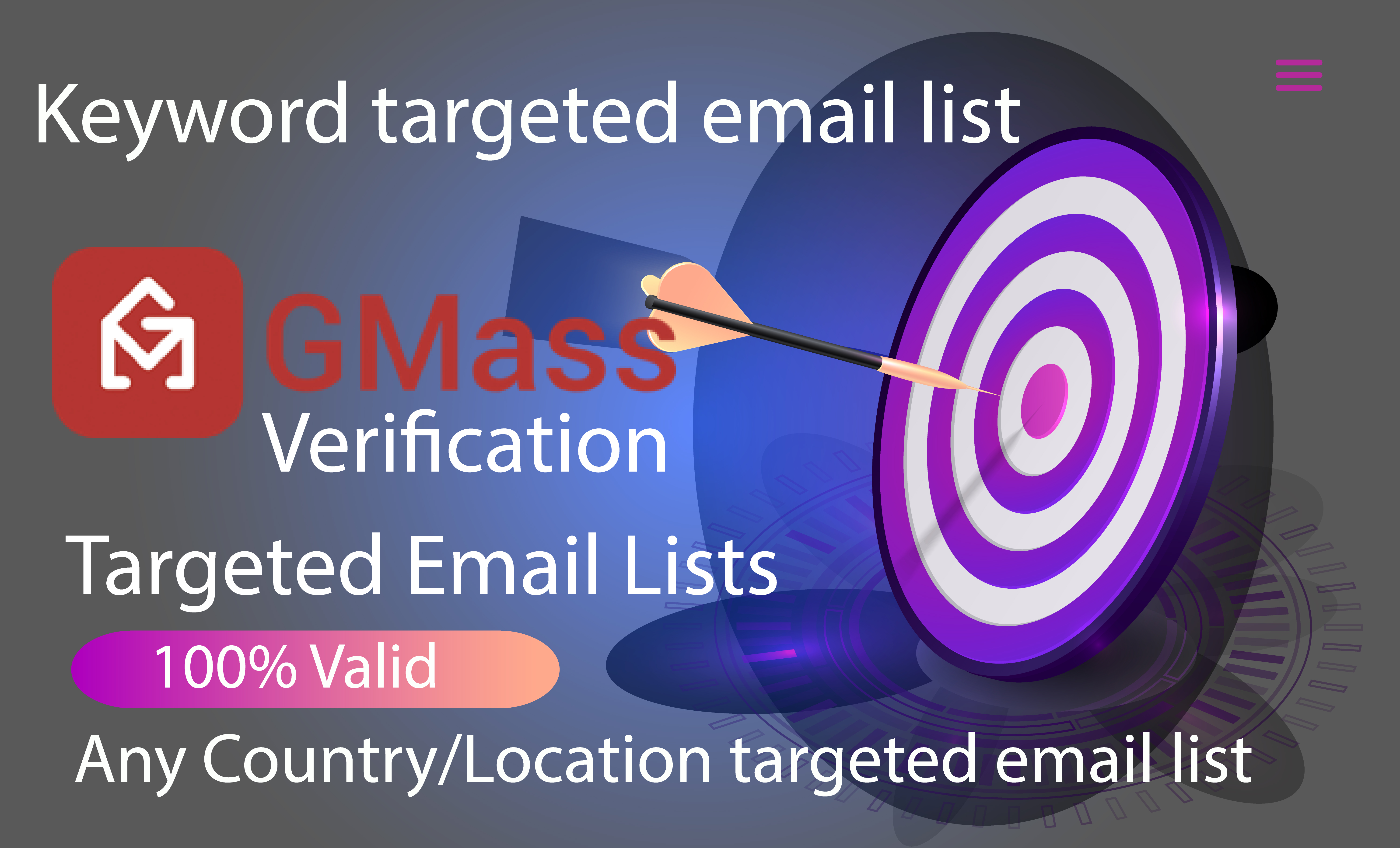 I will collect 5000 niche targeted email list for your business