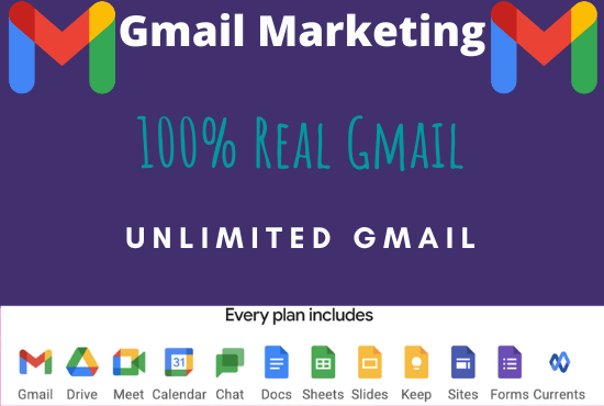 I will do manage your email marketing gmail list of your targeted niche