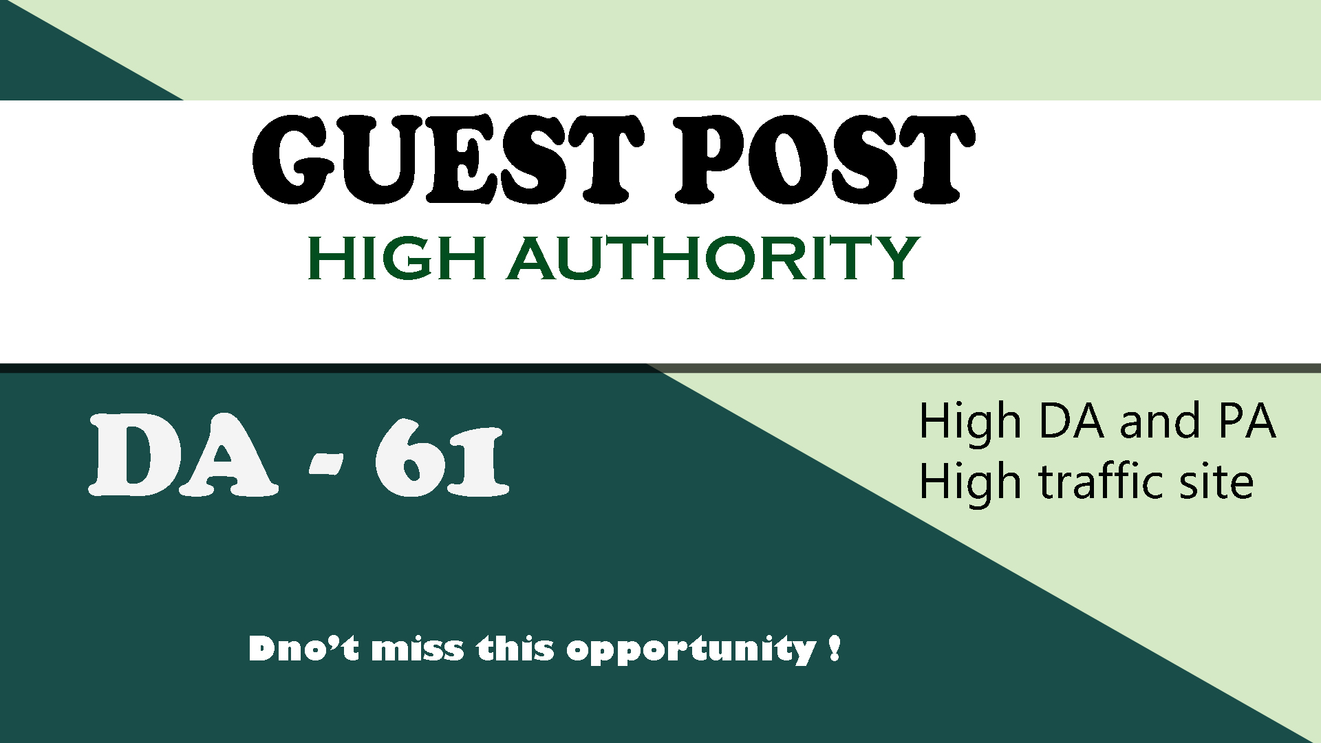 I will publish guest post on high da with dofollow backlinks