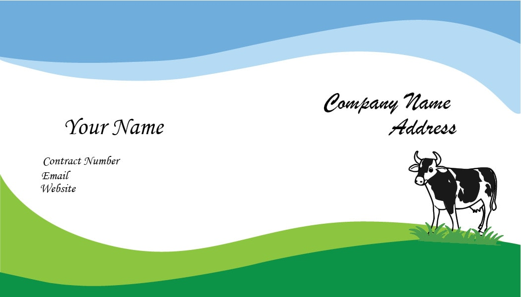 I will do design amazing business card for you