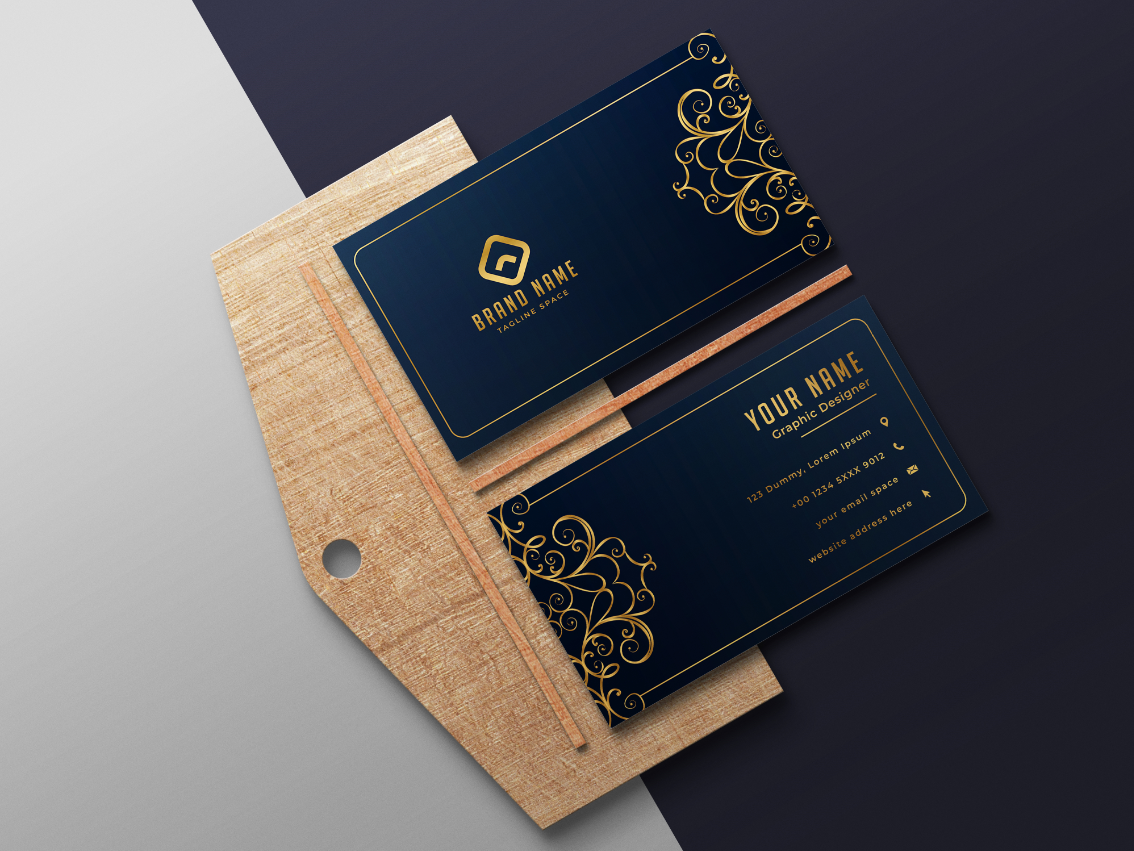 I will business card design for you