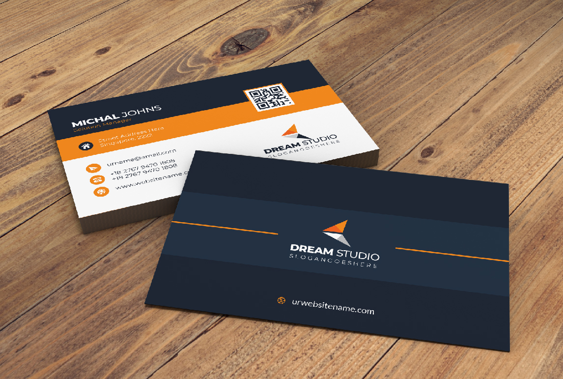 I Will design your stylish and modern business card