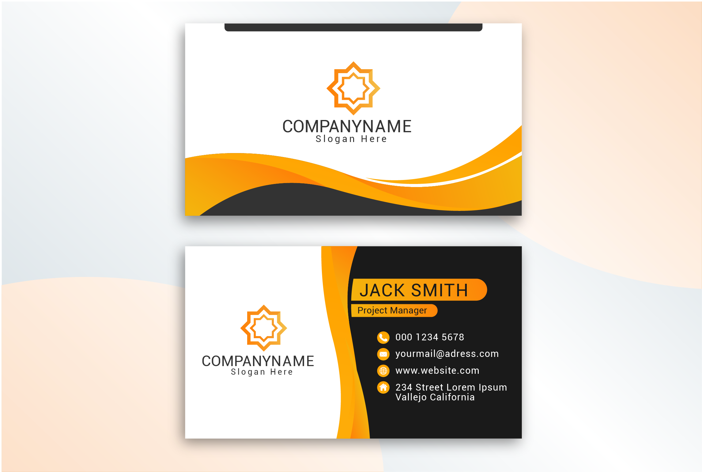 I will do professional business Card for you.