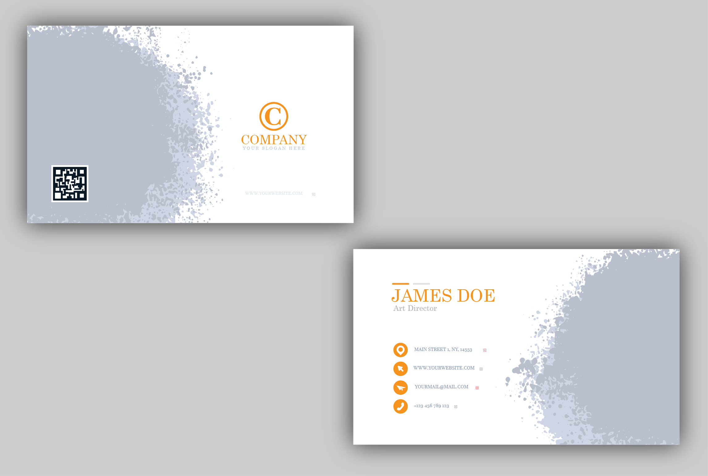 I will do professional and corporate business card design for you.