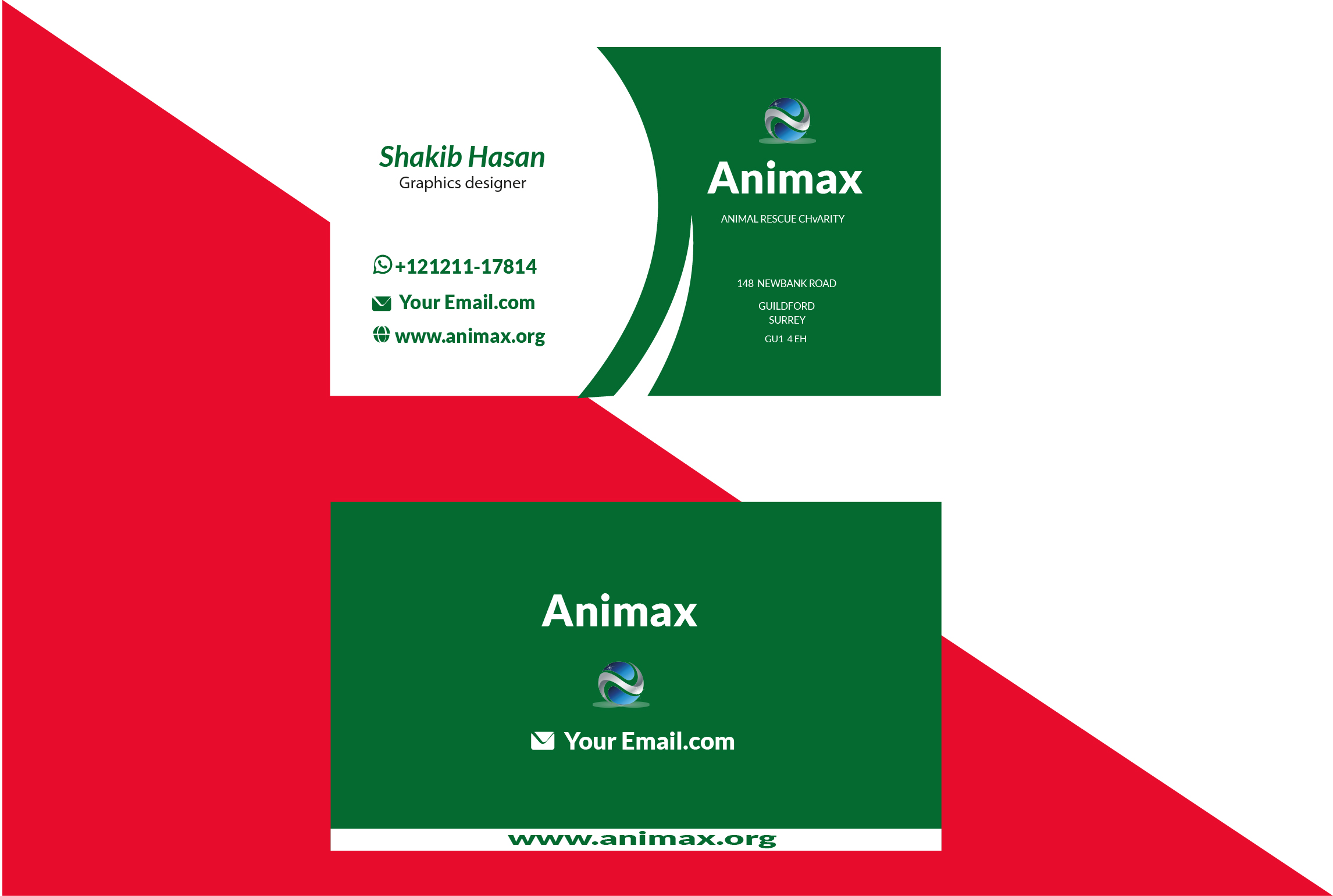 I will design stunnig business card for you.
