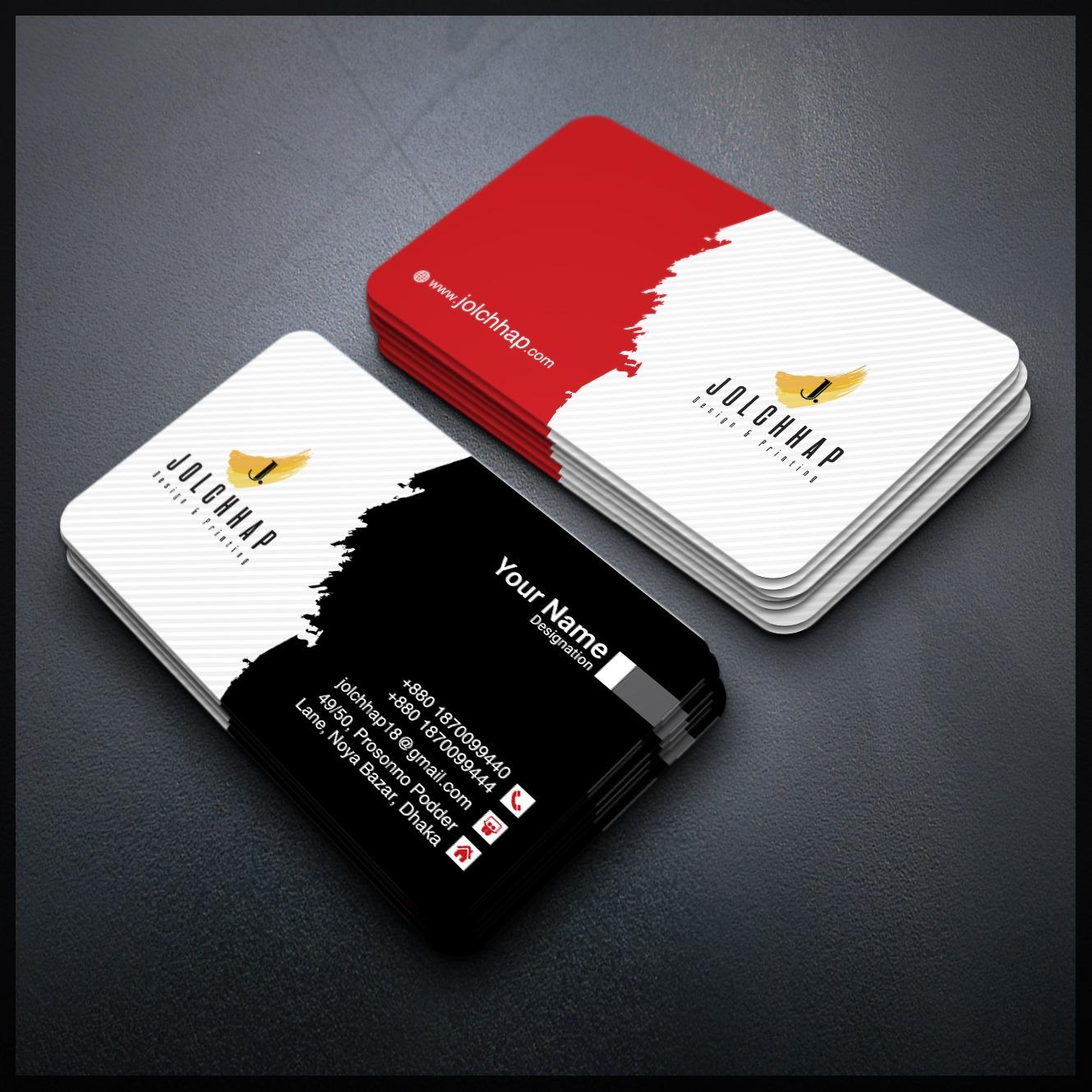 I will provide creative business card design
