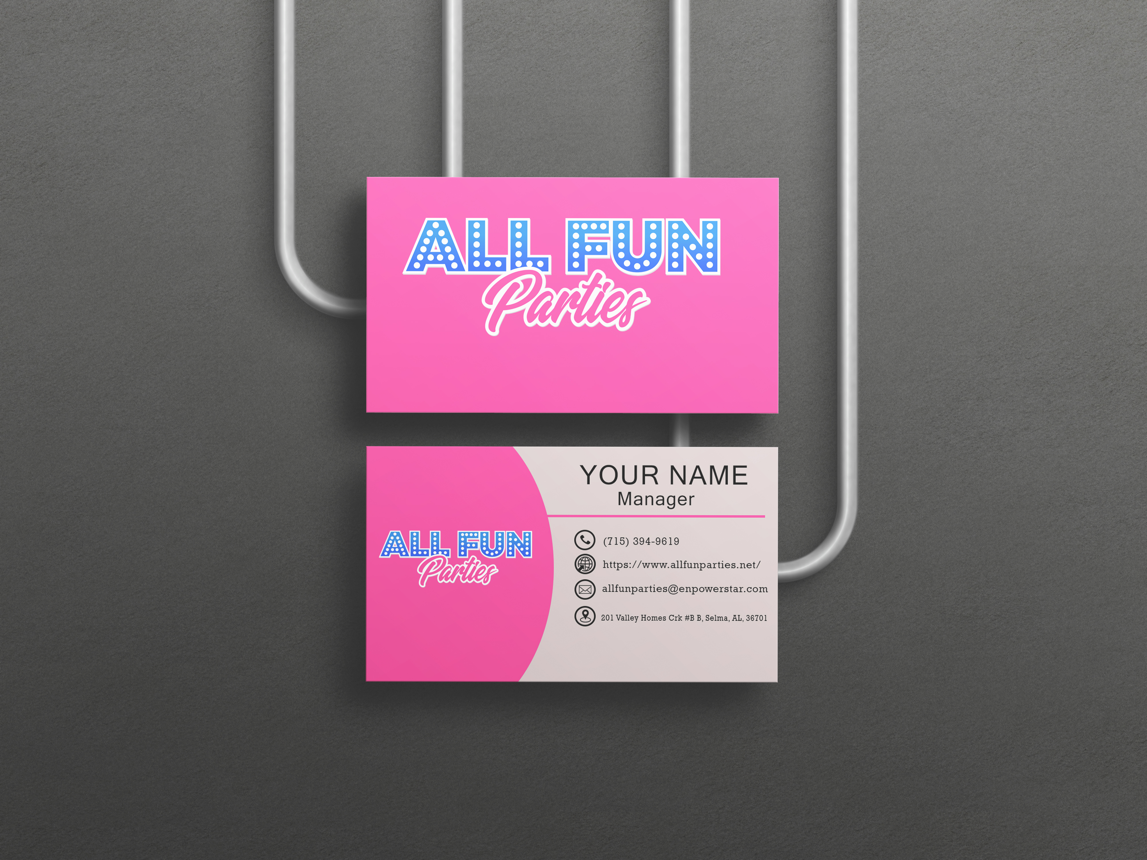 I will create an engaging business card design in 1hr