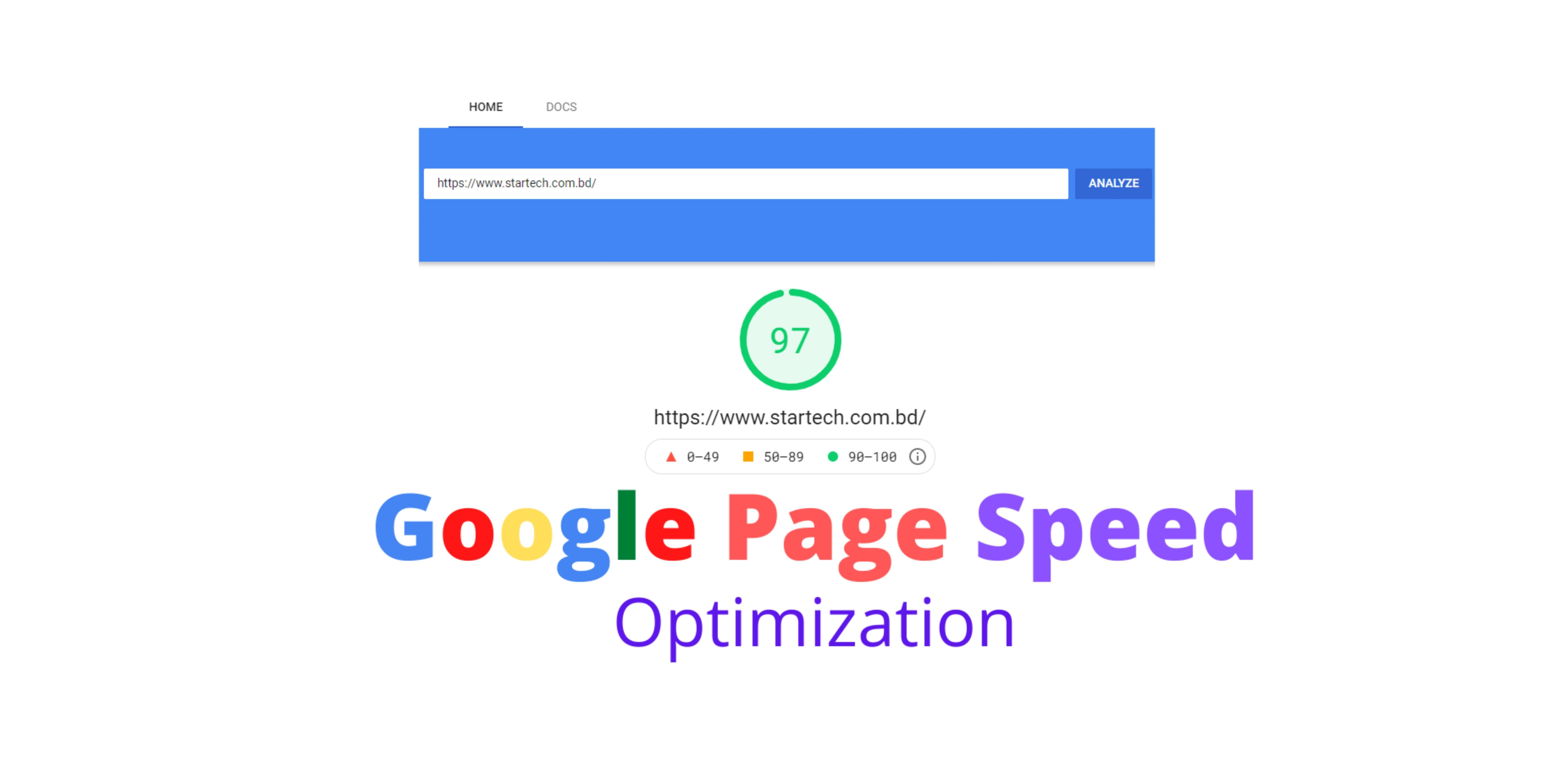 Optimize WordPress speed for google pagespeed insights