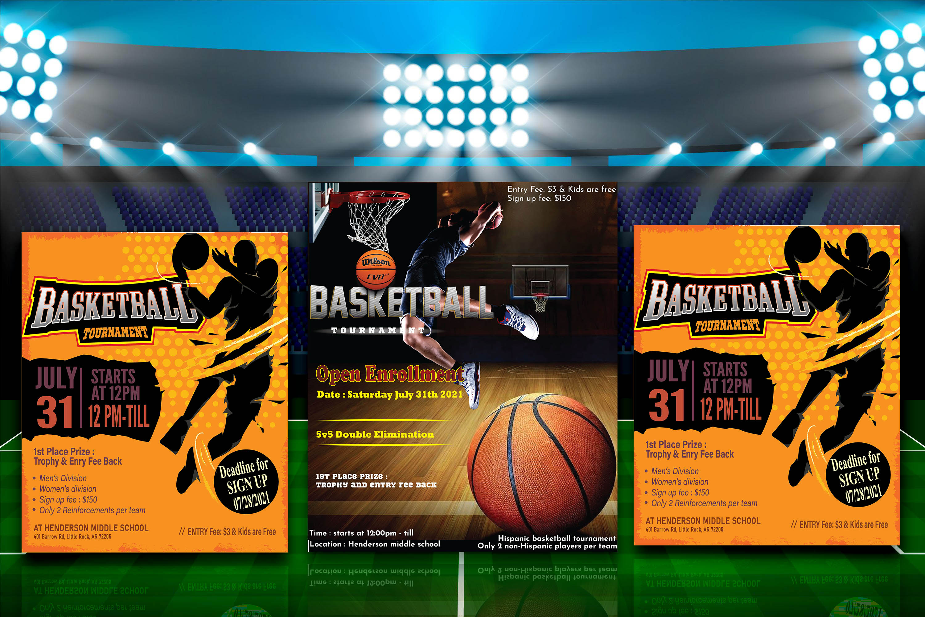I will design the best Professional Business Flyer or Sports Flyer or Event Flyer