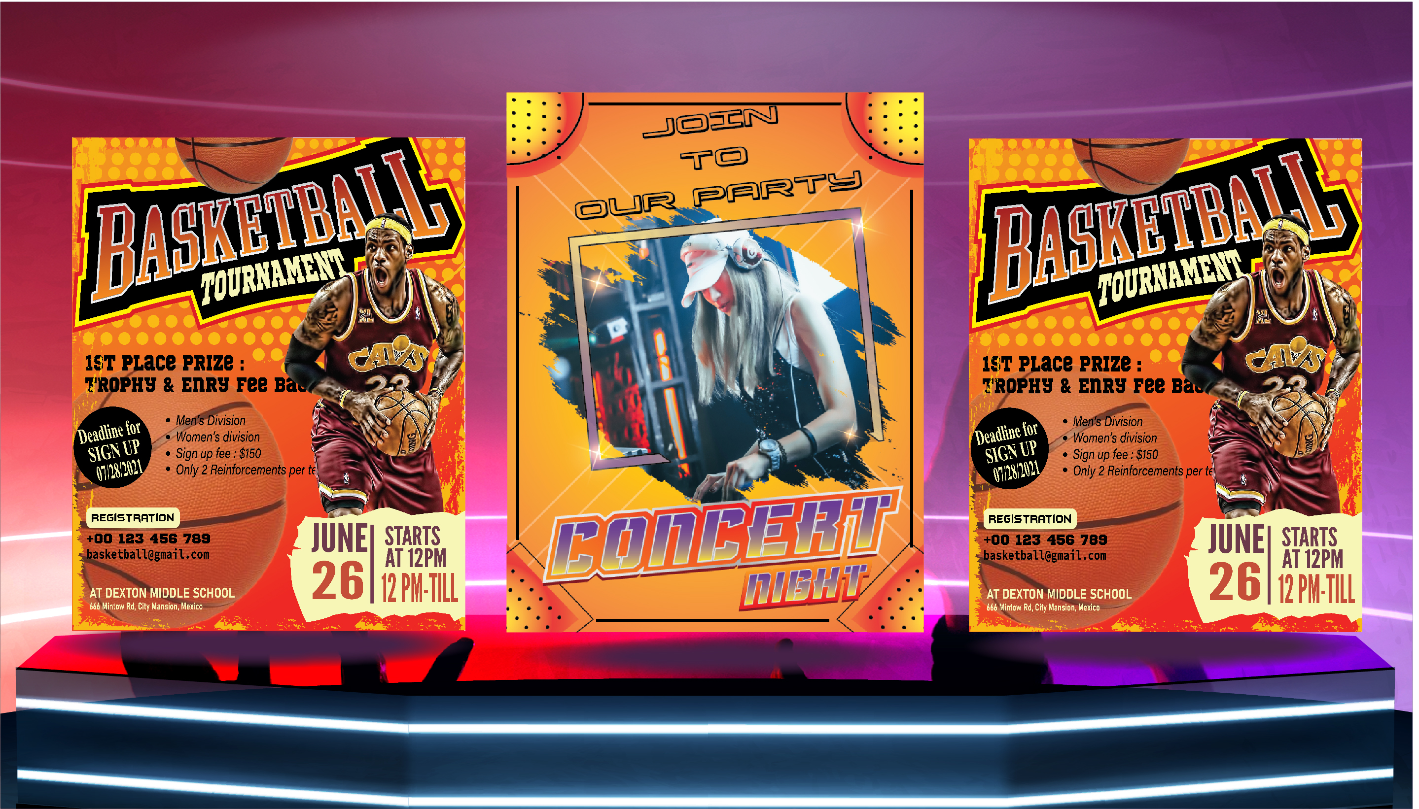 I will design an Amazing Professional Business Flyer or Sports Flyer or Event Flyer in 05 hours