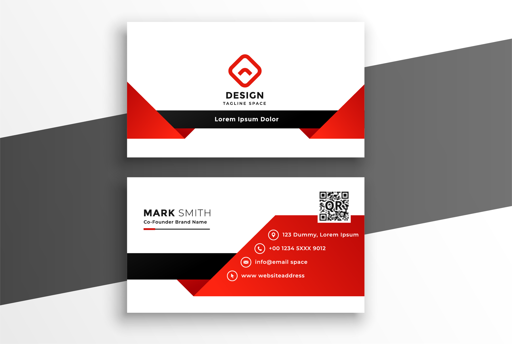 I will do a professional business card for your company